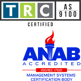 TRC Certified & ANAB Accredited
